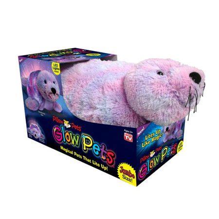 jumbo pillow pets pillow pets glow pet jumbo walmart