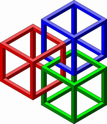 Clipart Shapes Geometrical Geometric 3d Clipground