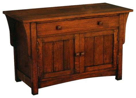 Craftsman Sideboard by Arts And Crafts Mission Oak Sideboard Or Entry Way Cabinet