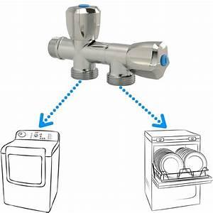 Machine A Laver Sans Raccordement : robinet double pour machine laver plomberie online ~ Premium-room.com Idées de Décoration