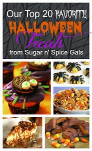 Our Top 20 Favorite Halloween Treats - Sugar n' Spice Gals