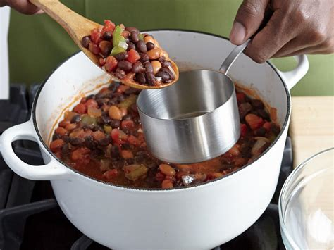 cooking light vegetarian chili how to make smoky two bean vegetarian chili cooking light