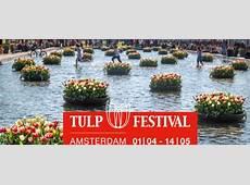 Amsterdam Tulip Festival 2017 Tulips in Holland