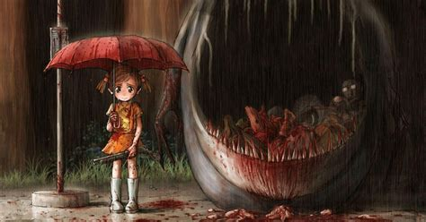 Scary Wallpapers Anime