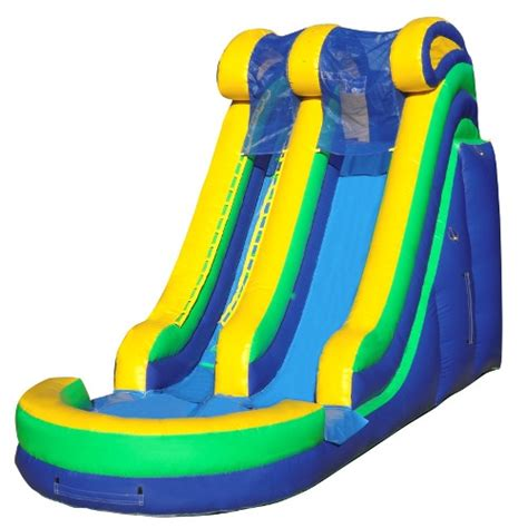 foot yellow wave inflatable green acres rental