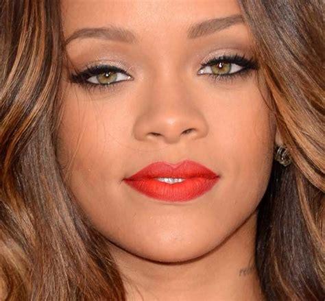 rihannas  grammy awards makeup inspired