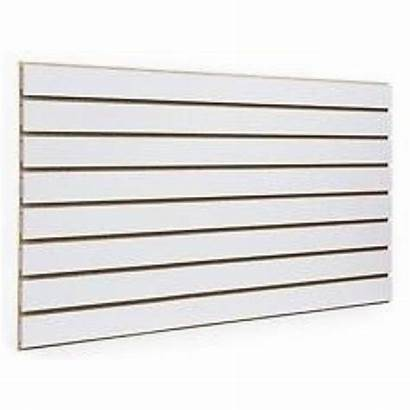 Slatwall Panel Panels Slat Hangers Wht Display