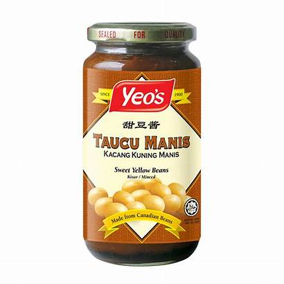 Taucu Yeo Yeos Bean Paste Yellow
