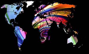 World Map Abstract Painting 2 Digital Art by Steve K