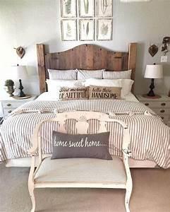35, Creative, Ways, To, Decorate, Rustic, Farmhouse, Bedroom