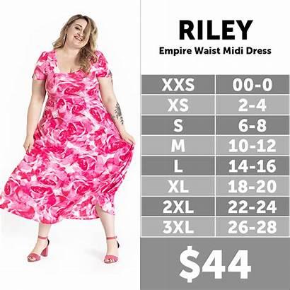 Lularoe Riley Chart Sizing Morgan