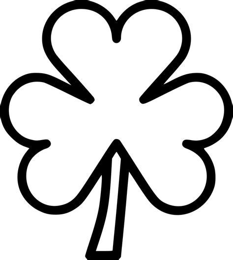 shamrock  clover leaf svg png icon    onlinewebfontscom