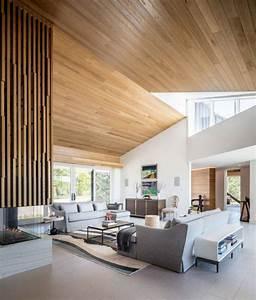Deco Bois Et Blanc : la d co blanc et bois est ce qui caract rise cette maison design dans le colorado ~ Melissatoandfro.com Idées de Décoration