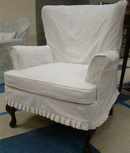 Queen anne chair slip covers modern chairs quality for Modern armchair covers