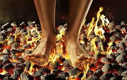 Coals Fire Walking Evangelical Revilo Oliver Burning