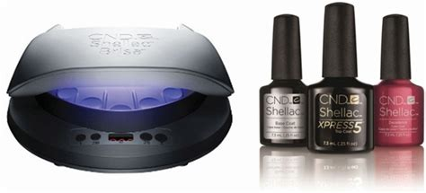 Cnd Shellac Led Light by Xpress Top Coat And Led L Style Nails Magazine