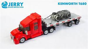 Lego Kenworth T680 Truck Instructions  Moc  97