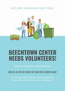 Bake Sale Posters Customize 41 Volunteer Flyer Templates Online Canva