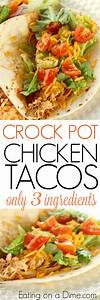 How to Make Shredded chicken tacosCrockpot Chicken Tacos