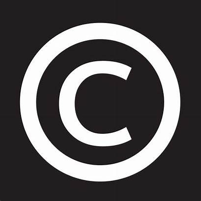 Copyright Symbol Icon Vector System Clipart Graphics