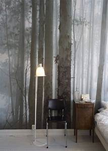 Whimsical Master Bedrooms with Forest Wallpaper – Master ...