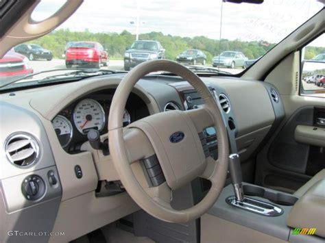 tan interior  ford  lariat supercrew  photo