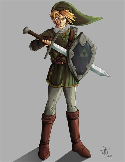 Fan Art Link Legend Of Zelda By Kakarotoo666 On Deviantart