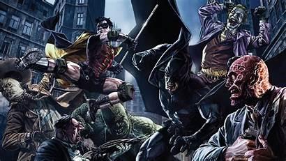 Batman Robin Villains Pantalla Dc Comics Wallpapers