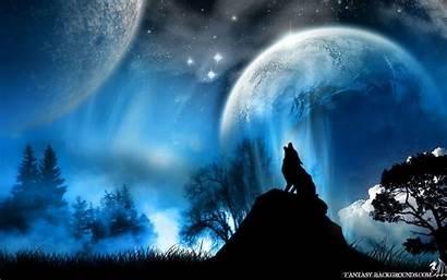 Fantasy Desktop Wallpapers Background Amazing Moon Backgrounds