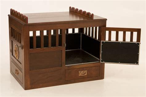 custom wooden dog crate gunsafe amish custom gun cabinets