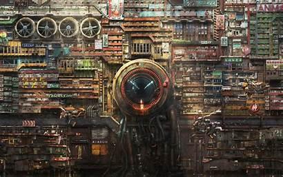 Cyberpunk Futuristic Digital Artwork Wallpapers 4k Artist