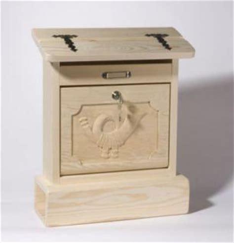 postkasten aus holz holzwaren wasmer holz briefkasten quot alztaler quot kaufen bei holzwaren johann wasmer