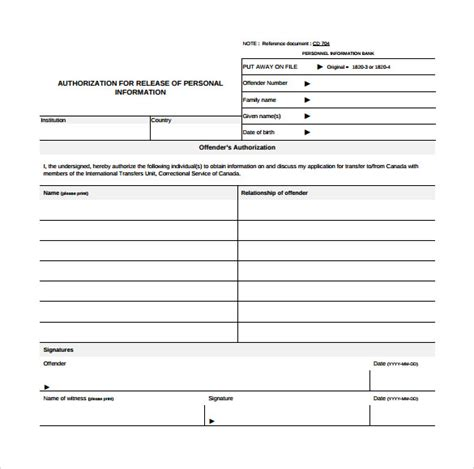 sample correctional services application form