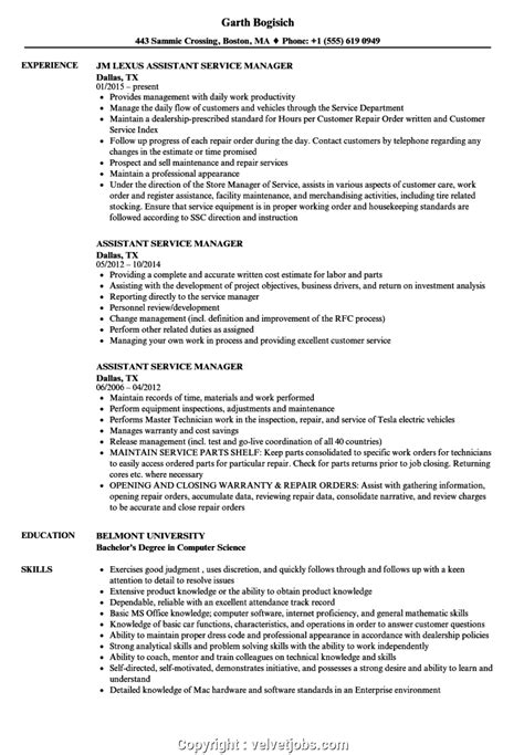 Resumes For Customer Service Managers by Print Assistant Service Manager Resume Assistant Service