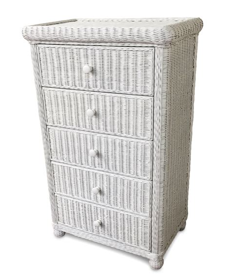 wicker  drawer dresser elana wicker paradise
