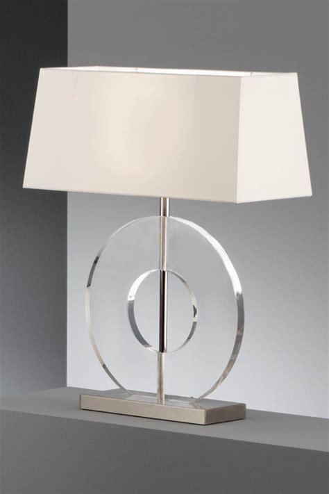 le faible 233 paisseur disque en acrylique transparent et chintz blanc baulmann leuchten