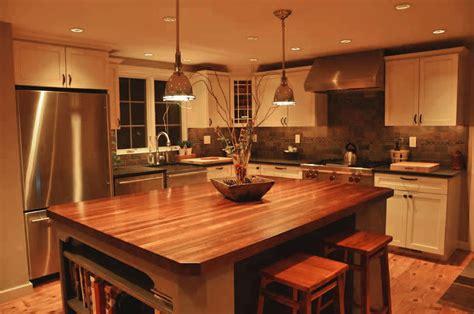 wood island tops kitchens custom mahogany wood kitchen countertop in blue bell pa