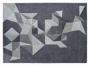 tapis pliages gris toulemonde bochart tapis design et With tapis contemporain design