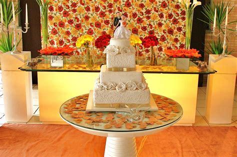 Decoração do Casamento: Laranja Amarelo e Vermelho 1
