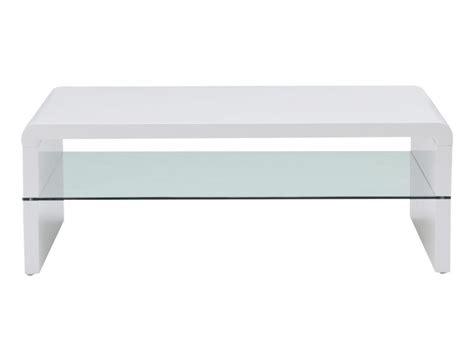 shirley fintz table l table basse shirley mdf laqué blanc et verre trempé