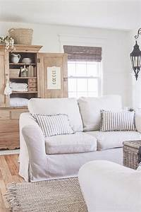 Living room slipcovers a comfort works review love for Slipcover furniture living room