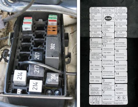 2006 A4 Fuse Box Number by C4 Urs Auxiliary Relay Panel 1 Photos And Relay Pns