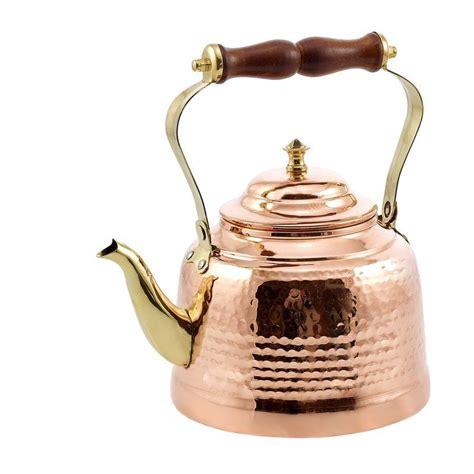 dutch international  qt solid hammered tea kettle copper tea kettle tea kettle copper
