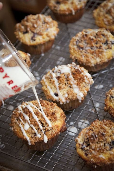 Pumpkin Pie With Pecan Streusel Topping by Cherry Pistachio Meyer Lemon Cornmeal Muffins With