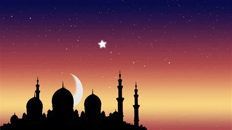 Islamic Backgrounds by Ramadan Kareem Islamic Background Moonrise The