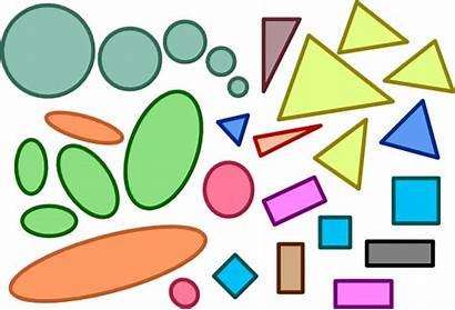 Shapes Clip Squares Triangles Circles Rectangles Geometric
