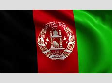 Flag Of Afghanistan Background Seamless Loop Animation