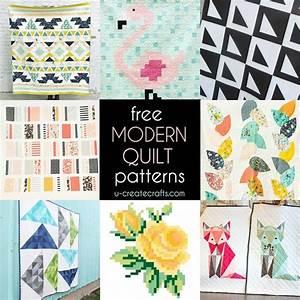 Free Modern Quilt Patterns - U Create