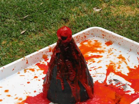 what are lava ls made out of how to make a homemade volcano learning 4 kids