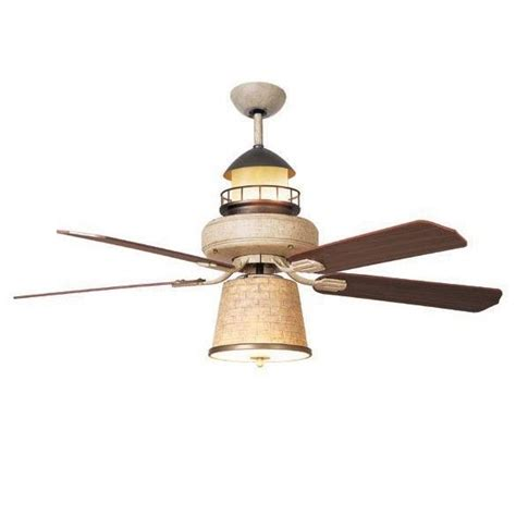 coastal ceiling lights details about new 52 in nautical ceiling fan with light